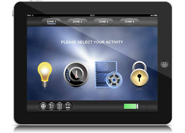 Ipad Home Automation Lighting Control