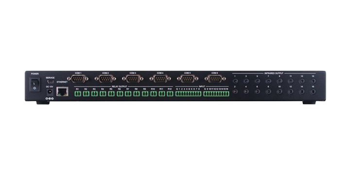 Image of front I/O for Centro CM